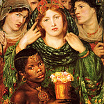 Dante Gabriel Rossetti - Rossetti, Dante Gabriel - The Beloved 1866 (end