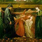 Dante Gabriel Rossetti - Dantes_Dream_at_the_Time_of_the_Death_of_Beatrice