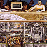 Диего Ривера - Rivera, Diego - Detroit Industry 1932-3 (end