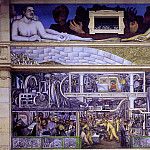 Diego Rivera - 1933 Detroit Industry, South Wall
