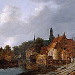 Jacob Van Ruisdael - View of Weesp