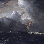 Storm Clouds over the Sea