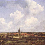 Jacob Van Ruisdael - RUISDAEL_Jacob_Isaackszon_van_Landscape_With_Church_And_Village