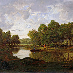 Landscape near Barbizon