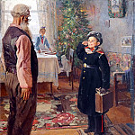 Ilya Repin - Arrived for the holidays