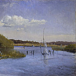 Georg Engelhard Schröder - The Shore at Ringsjön II