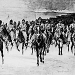 Фредерик Ремингтон - Fr_047_Miles Army at Pine Ridge--The Cavalry_FredericRemington_sqs