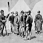 Frederick Remington - Fr_046_General Carr Receiving the Report of a Scout_FredericRemington_sqs