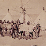 Frederick Remington - A_Troop_Picket_Line