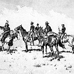 Frederick Remington - Fr_006_The Borderland of the Other Tribe_FredericRemington_sqs