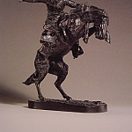 Frederick Remington - The_Bronco_Buster