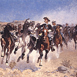 Frederick Remington - bs-ahp- Frederic Remington- Dismounted