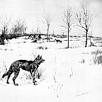 Frederick Remington - Fr_004_The Hungry Winter_FredericRemington_sqs