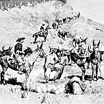 Frederick Remington - Fr_007_A Government Pack Train_FredericRemington_sqs
