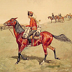 Frederick Remington - Hussar_Russian_Guard_Corps