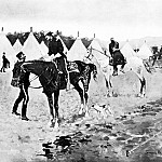 Frederick Remington - Fr_020_A Modern Cavalry Camp_FredericRemington_sqs