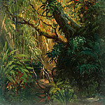 Carl Blechen - Tropical Vegetation