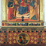 Cosimo Rosselli - Madonna Enthroned between Saints Thomas and Peter