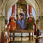 Giovanni Battista Cima da Conegliano - Madonna with Child and Saints