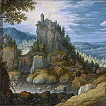 Martinus Rorbye - Landscape with a Fortress