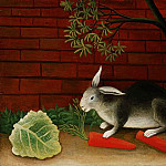 Henri Rousseau - Rousseau,H. The meal of the rabbit, 1908, Barnes foundation