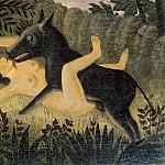Henri Rousseau - Beauty and the Beast