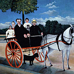 Henri Rousseau - Father Juniers Dog-Cart