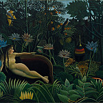 Henri Rousseau - Анри Руссо - Сон [The Dream], 1910, Moma, NY