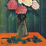 Анри Руссо - rousseau_flowers_in_a_vase_1909