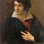Anne-Louis Girodet de Roucy-Trioson - Portrait of a Young Man