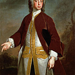 Portrait of Lord Sherard Manners, 6th son of the Duke of Rutland, Allan Ramsay