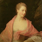 Portrait of Marie, second daughter of Sir Robert Walpole and wife of James Earl Waldegrave, De Schryver Louis Marie