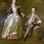 The Hon. Rachel Hamilton and her brother, the Hon. Charles Hamilton, Allan Ramsay