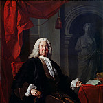 Portrait of Dr. Richard Mead, Allan Ramsay