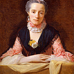 An Unknown Woman in a Pink Dress