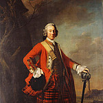Portrait of John Campbell, 4th Earl of Loudon , full-length, Allan Ramsay