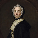 Allan Ramsay - Portrait of Mrs Morris, widow of Colonel Morris of Purcefield Park