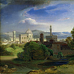 Carl Rottmann - View over Florence