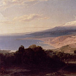 Carl Rottmann - Taormina and Mount Etna