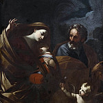 The Flight into Egypt [After], Guido Reni