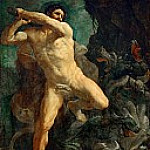 Guido Reni - Hercules Killing the Hydra of Lerna