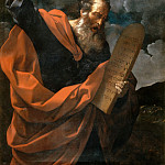 Moses with the Tablets of the Law, Guido Reni