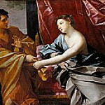 Joseph and Potiphars Wife, Guido Reni