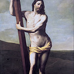 Guido Reni - The risen Christ embraced the Cross