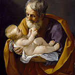 Saint Joseph and the Christ Child, Guido Reni