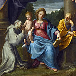 Guido Reni - HOLY FAMILY WITH SAINT FRANCIS