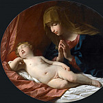 Adoration of the Child, Guido Reni
