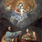 Madonna and Child between Saints Thomas and Jerome, Guido Reni
