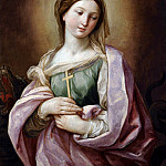 SAINT MARGARET OF ANTIOCH, Guido Reni