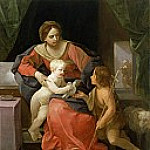 Virgin and Child with Saint John the Baptist, Guido Reni